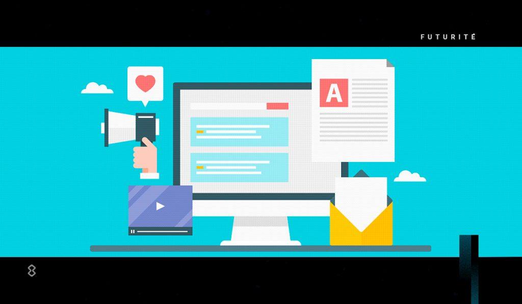 El content marketing puedes encontrarlo en blogs, infografías o newsletters.