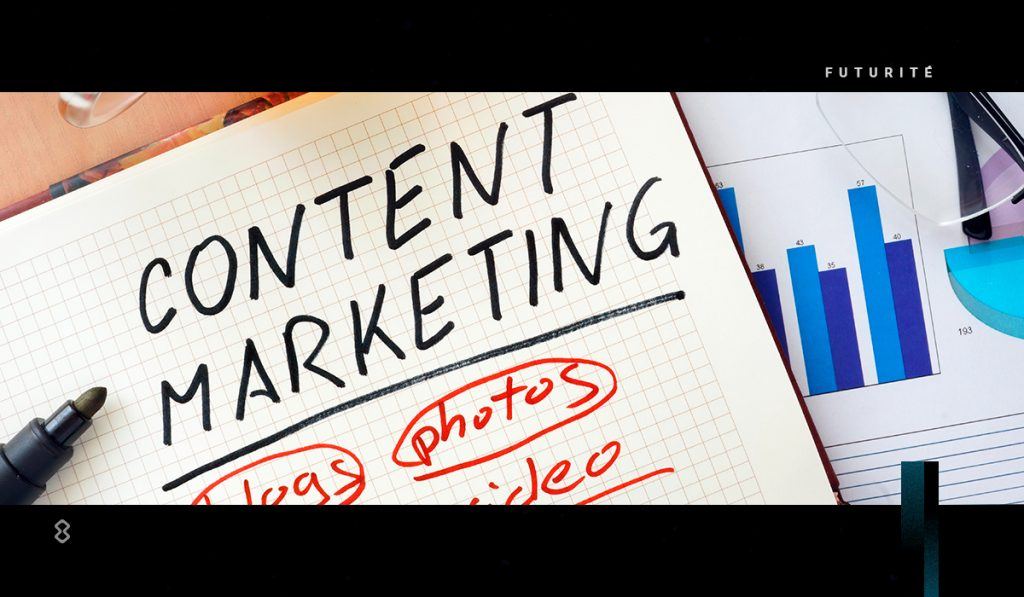 El content marketing siempre tiene como objetivo primordial dar información útil.